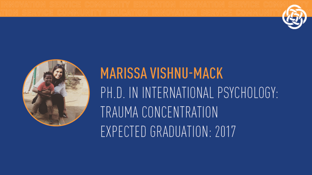 A field service trip to South Africa with The Chicago School of Professional Psychology's International Psychology program changed Marissa Vishnu-Mack's perspective on poverty and the human experience.