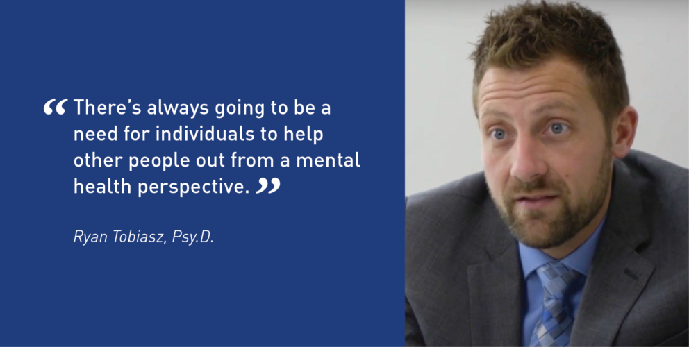 Quote from Ryan Tobiasz about mental health