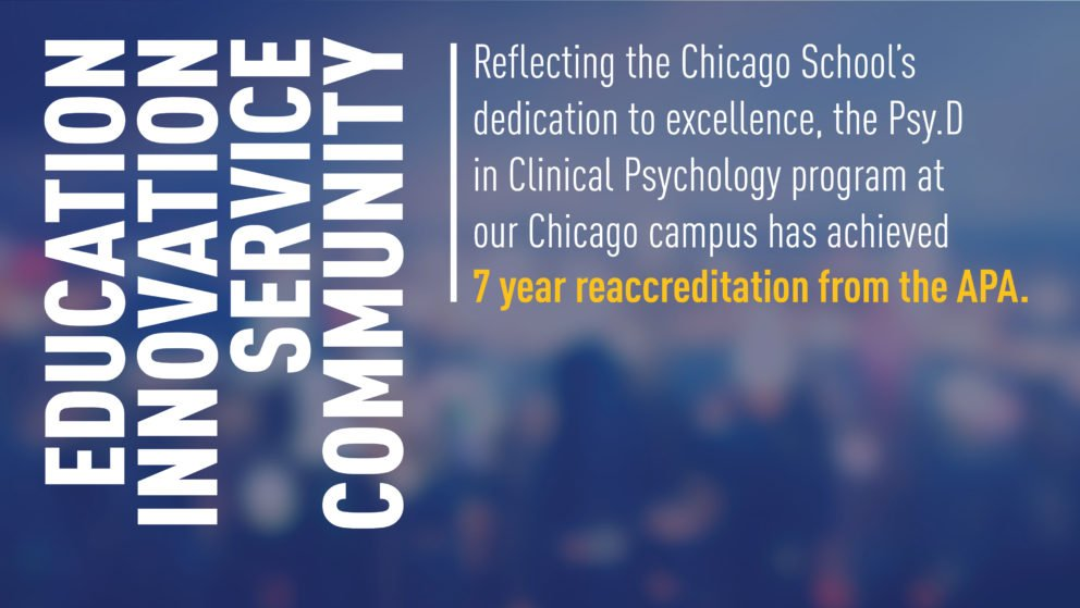 Chicago APA Reaccreditation Web Banner