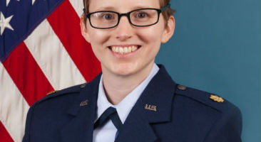Air Force Major Laura Johnson picture